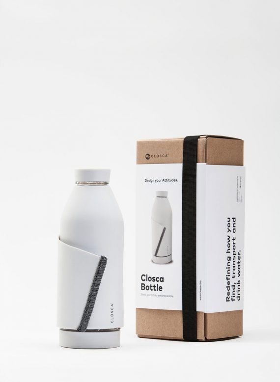 Closca Bottle White packaging