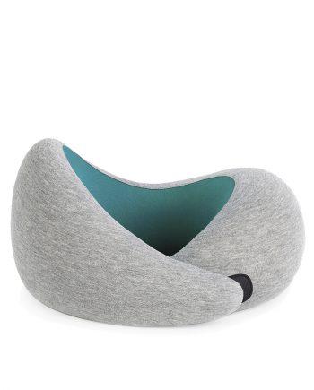 Ostrich pillow Go nekkussen Blue Reef voorkant