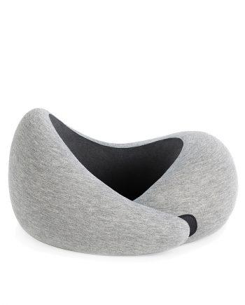 Ostrich pillow Go nekkussen Midnight Grey Voorkant 1