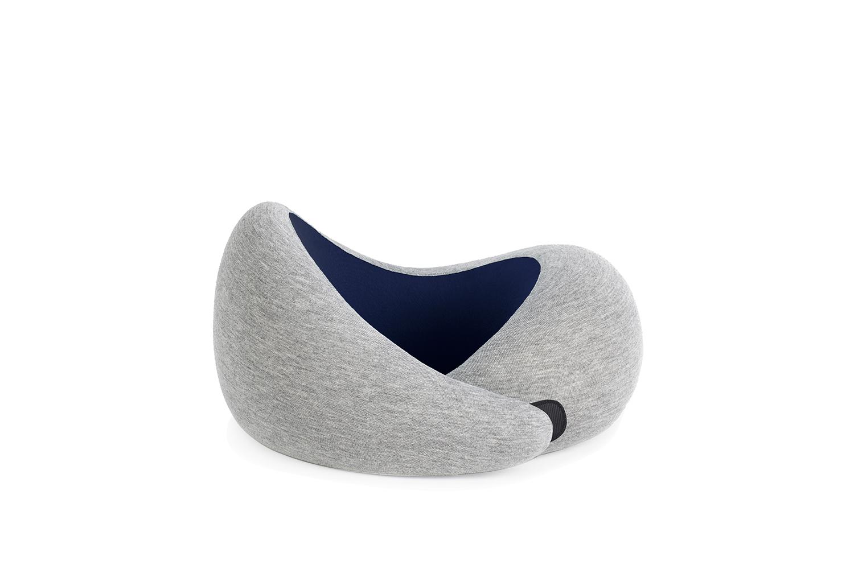 Ostrich pillow Go nekkussen Navy Blue voorkant 1