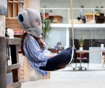 ostrichpillow original ostrich pillow official travel nap sleepy blue tablet product zoom1